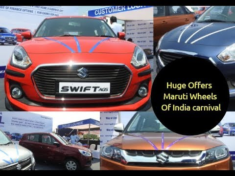 Huge Discounts On Maruti Suzuki Cars 2018 Festive Season Offers