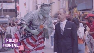 Times Square Stephen Miller Impersonator | Fuller Frontaler on TBS