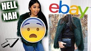 TRYING ON TRENDY EBAY COATS UNDER £20 | Anoushka
