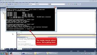 Writing a C++ extension for Python 2.7 with Visual Studio(In this video I demonstrate how to write and debug a C++ extension for Python, using Visual Studio 2010. This demo supposes that Python 2.7 is installed in ..., 2013-07-07T12:34:00.000Z)
