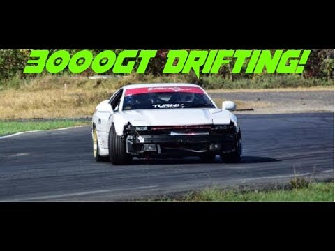 My First Drift Event 3000gt Drifting Track Day Struggles Youtube