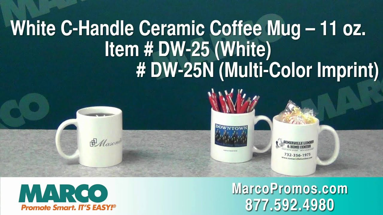 Best Selling & Budget-Friendly Promo Mugs from MARCO