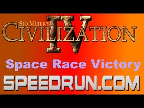 Sid Meier's Civilization IV Space Race Victory Speedrun in 4:50.19 [Former World Record]  
