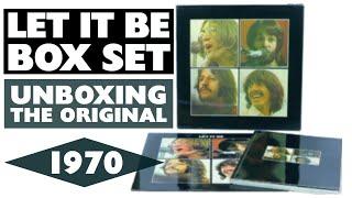 Unboxing Original UK Beatles 'Let It Be' Box Set