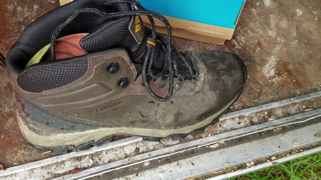 0c41fededfe Columbia Newton Ridge Waterproof. Best shoes for professional lawn care or  no?
