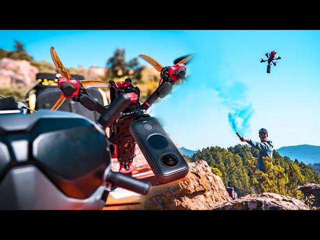 Insta360 X FPV drone - MAKING OF