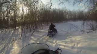 На снегоходах BRP и ARCTIC CAT