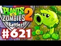 BATTLEZ! Primal Peashooters and Blovers! - Plants vs. Zombies 2 - Gameplay Walkthrough Part 621