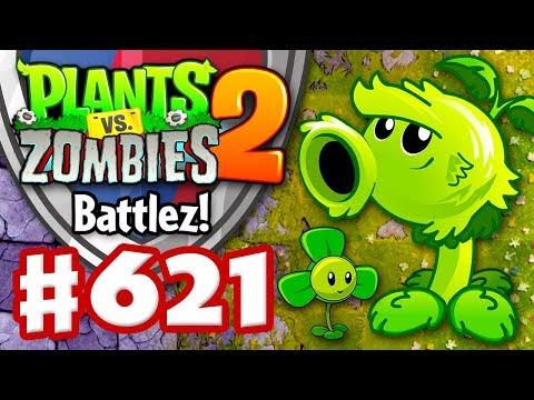 BATTLEZ! Primal Peashooters and Blovers! - Plants vs. Zombies 2 - Gameplay Walkthrough Part 621