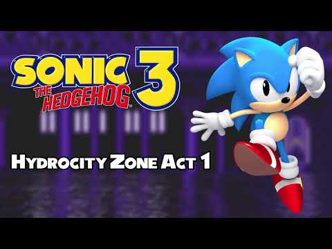Hydrocity Zone Act 1 - Sonic The Hedgehog 3 Remix - YT