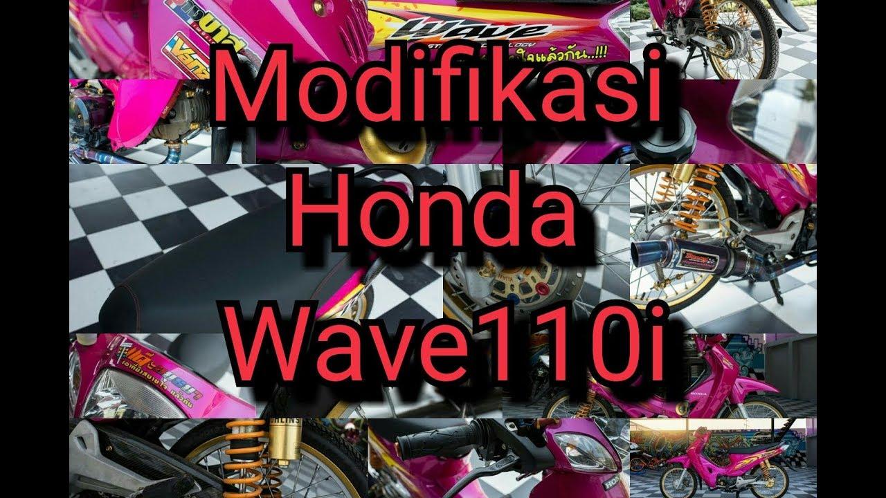 Modifikasi Motor Honda Wave 100 Dunia Otomotif
