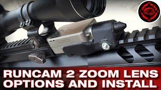 RunCam 2 Zoom Lens Install +  New Mount
