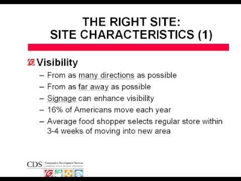 FCI 2008: Market Research: Projecting Sales Potential and Finding the Right Site