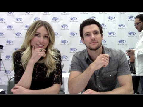 Drew Roy, Sarah Carter Falling Skies Season 5 Interview - Part 1