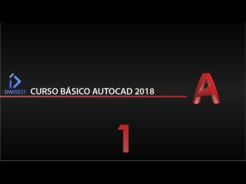 Curso Básico Autocad 2018 Parte 1 - Tutorial Prara Principiantes - En Español