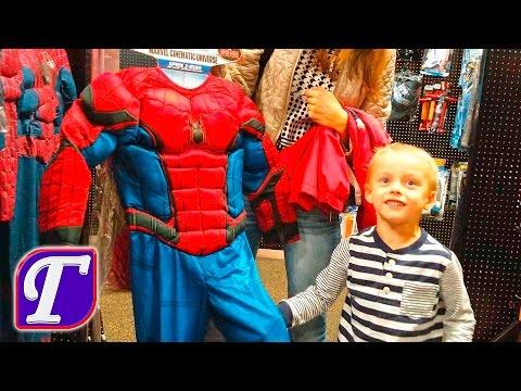 Человек Паук на Хэллоуин Щенячий Патруль Детские Костюмы Героев в Магазине Америка