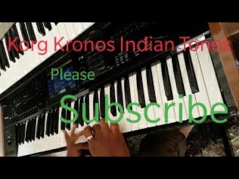 Korg Kronos Indian Ethnic Tones Part 1
