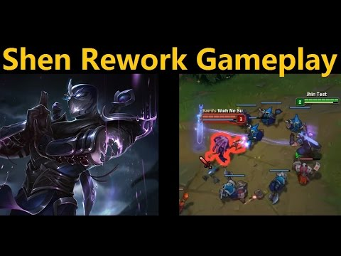 Shen Rework Top Gameplay - New Shen, now with 67% more annoying