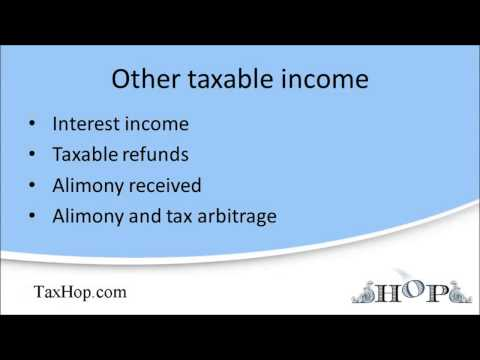 Other taxable income