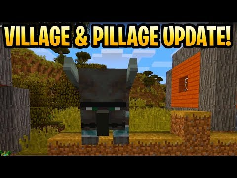 Minecraft Village & Pillage Update Details & Features! 1.15 Release Date? Minecon Earth 2018 thumbnail