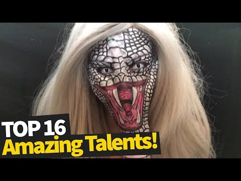 16 Incredibly Talented