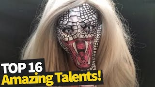 16 Incredibly Talented People | Amazing Skills 2019