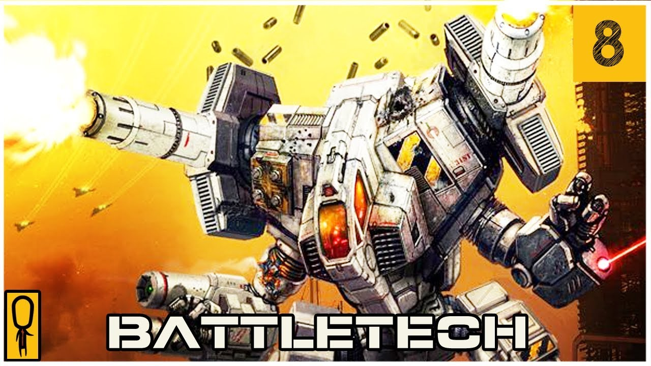 ᐈ CAPTURE THE ARGO PART B - Part 8 - Let's Play BattleTech