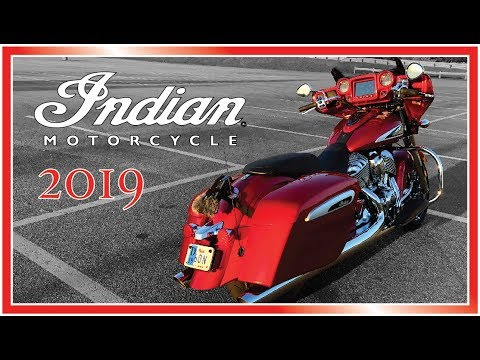 2019 Indian Chieftain Limited Rear Cylinder Deactivation and Exhaust