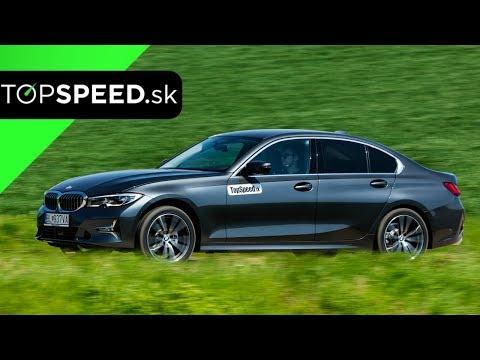 BMW 320xd Test G20 2019 - Maroš ČABÁK TOPSPEED.sk