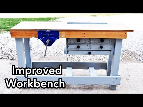 Improved Workbench for Woodworking – Workbench 3.0