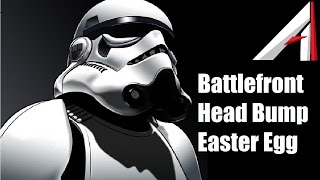 Battlefront Stormtrooper Head Bump! - Battlefront easter egg