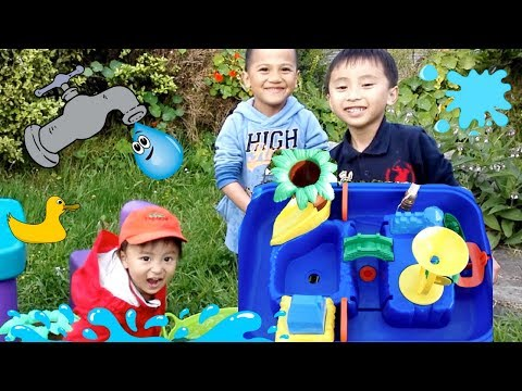 Unboxing Sand & Water Play Table | Water Play With Michael