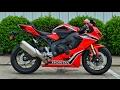 2017 Honda CBR1000RR Review of Specs | CBR Sport Bike / Motorcycle Walk-Around | CBR 1000 RR