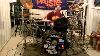 How Long Can A Man Be Strong - Jeff Healey drum cover by Rick Flynn