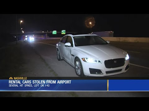 Rental Cars Stolen From Nashville Airport