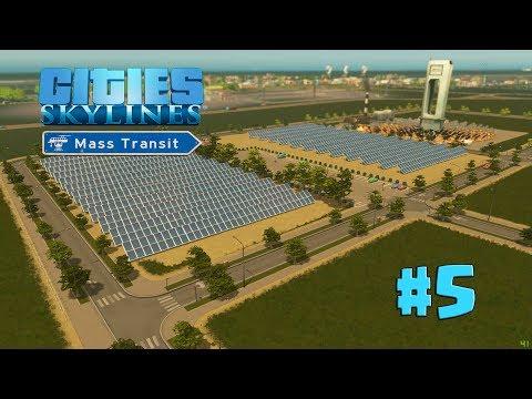 Cities Skylines | EP 5 | CENTRAL SOLAR + REMOLECIÓN DE ZONAS