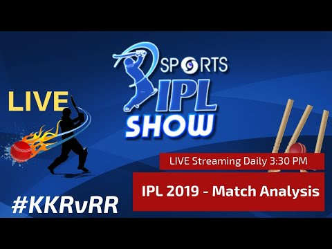 #IPL2019 Match Day 34 | Kolkata Knight Riders vs Rajasthan Royals I #KKRvRR #IPL