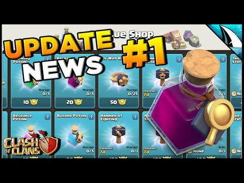 *UPDATE NEWS #1* New Research Potion! & More Changes | Clash Of Clans