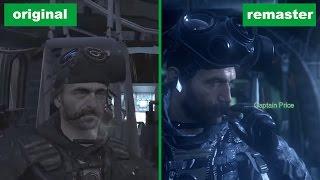 Сравнение графики Call of Duty 4: Modern Warfare — ремастер и оригинал (18+)(Call of Duty: Modern Warfare — Remastered — улучшенная и доработанная версия оригинальной игры 2007 года с подтянутой графико..., 2016-10-07T12:54:03.000Z)