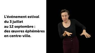 Le Voyage à Nantes 2021 / vidéo LSF