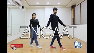 ZINGAAT | AjayAtul | Dhadak | Bollywood Dance Choreography | Sakshi Raisurana