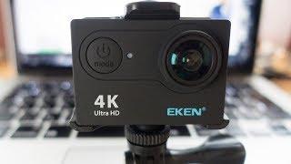 EKEN H9/H9R 4K Aksiyon Kamera Kutu Açılımı