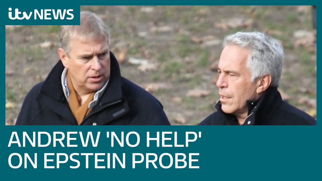 Prince Andrew 'uncooperative' with Jeffrey Epstein probe, US prosecutor says | ITV News