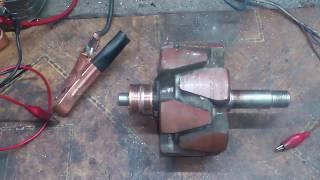 Qanday transport vositasining rotor bu alternator tekshirish uchun.