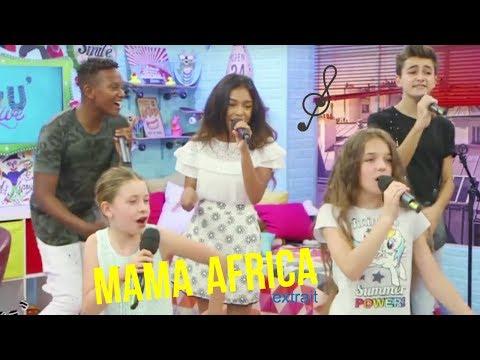 """KIDS UNITED- """"MAMA AFRICA"""" LEUR NOUVEAU TITRE EN LIVE (EXTRAIT)"""