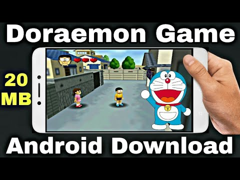 How To Download Doraemon Android Game | Doraemon Android Game Gameplay