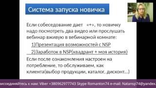 Презентация системы работы в NSP через интернет