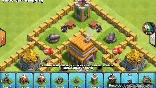 Clash Of Clans:Base Th5-Anti Giant,Ballon Lvl2