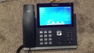 Yealink T48S IP Phone Demo