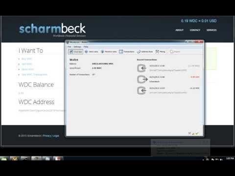 Scharmbeck Send/Receive Worldcoin Demonstration